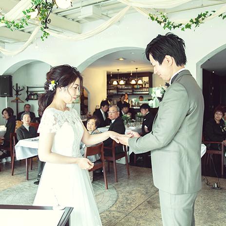 少人数結婚式の画像